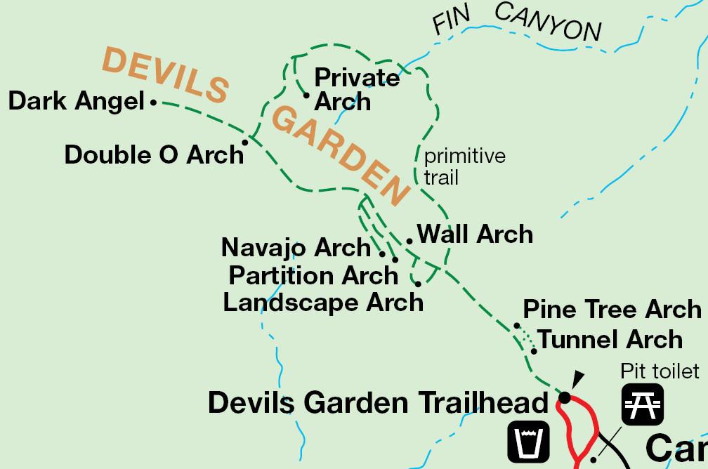 map devils garden
